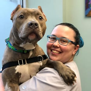 Rachael: Veterinary Staff in Melrose